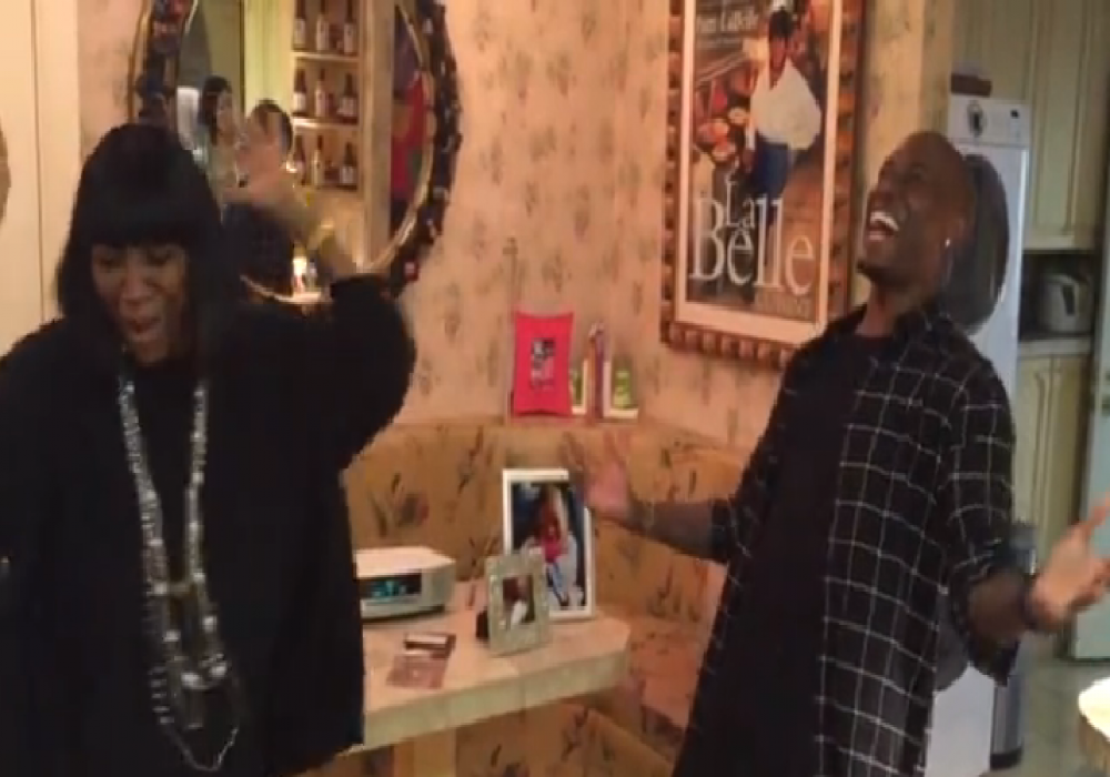 Video Of The Week Tyrese And Patti Labelle Sing Shame In